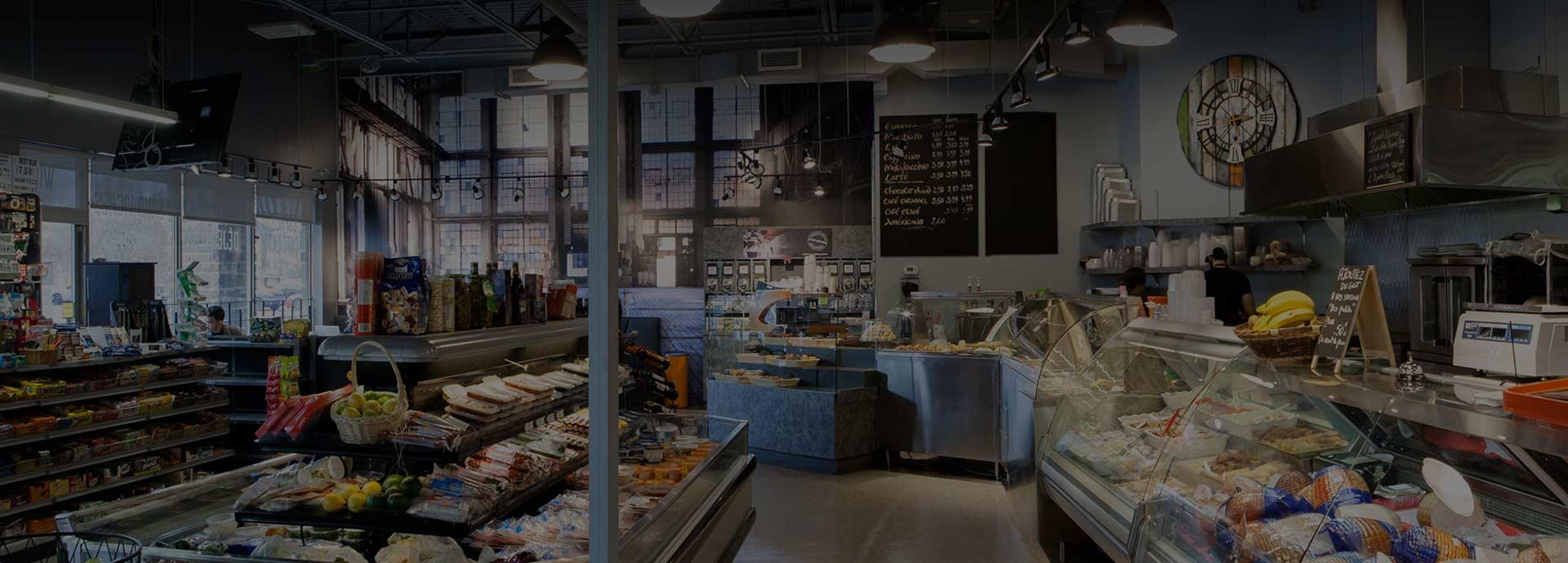 via cassia grocery store in sainte-dorothée